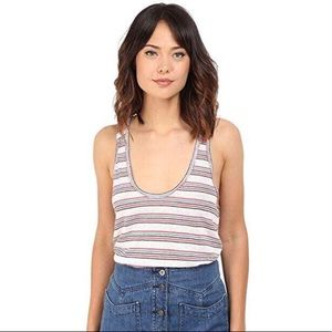 We The Free Free People Best Night Striped Top